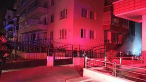 Son dakika haberi... Ankarada bir apartmanın zemin katında doğalgaz patladı: 3 yaralı