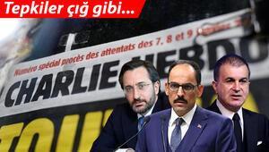 Son dakika haberi... Fransız Charlie Hebdo dergisinden Cumhurbaşkanı Erdoğana alçak saldırı