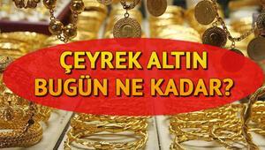 Altın fiyatları bugün ne kadar oldu Çeyrek altın ne kadar İşte 28 Ekim piyasalardan güncel çeyrek gram ve tam altın fiyyatı bilgisi
