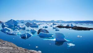 Grönlandda rekor düzeyde buzul eridi
