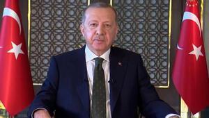 Son dakika haberler... Cumhurbaşkanı Erdoğandan 29 Ekim mesajı