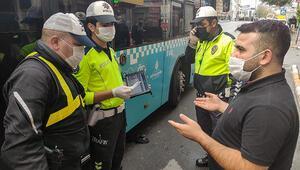 Son dakika... Karantinada olması gereken şoför yakalandı Yolcular indirildi, ekip çağrıldı