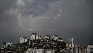 Meteorolojiden son dakika bilgisi: Dolu, sel ve hortum geliyor