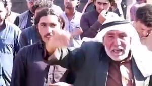 Suriyede terör örgütü PKK işgali altındaki kasabada halk isyanı