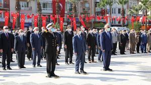 Çanakkale'de Atatürk Anıtına çelenk konuldu