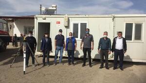 Obruk Köyüne 12 konteyner kuruldu
