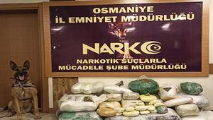 Osmaniyede uyuşturucu operasyonu