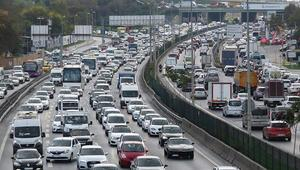 Son dakika... İstanbulda tatil trafiği başladı