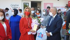 Çocuklar Gülsün Diye Derneğinin 40'ıncı okulu Denizli'de açılıyor