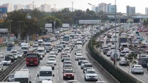 İstanbulda tatil trafiği başladı