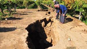 Manisada Sarıgöl fay hattında bilim adamları incelemelerde bulundu