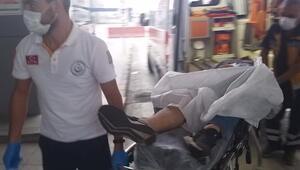 Samsunda husumetlisini tabancayla yaraladı