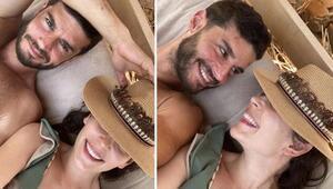 Berk Oktaya sevgilisi Yıldız Çağrı Atiksoydan romantik mesaj
