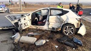 Çorumda korkunç kaza 1i uzman çavuş, 2 kişi hayatını kaybetti