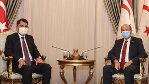 KKTC Cumhurbaşkanı Tatar, Bakan Kurumu kabul etti