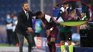 Son Dakika | Başakşehir PSG maçına damga vuran an Neymar gözyaşlarını tutamadı...