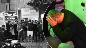 İzmirde dehşet Yakınları sinir krizi geçirdi