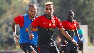 Kayserisporda Çaykur Rizespor maçı hazırlıkları sürüyor