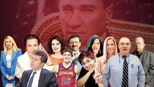 Özgürlük, Atatürk, güven, eşitlik, nefes, vatan, sevda, cumhuriyet