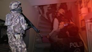 İstanbulda terör örgütü DHKP-C operasyonu