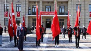 Eskişehirde 29 Ekim Cumhuriyet Bayramı törenle kutlandı