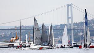İstanbul Boğazında dikkat çeken anlar