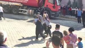 Elazığda yangın 8 aylık bebek öldü, 2 çocuk yaralandı