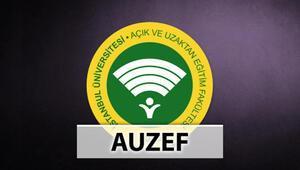 AUZEF sınav tarihleri ne zaman AUZEF aksis giriş ekranı