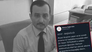 Son dakika haberler: Sakarya'da doktor koronavirüsten hayatını kaybetti