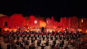 Patara Antik Kenti'nde Büyük Cumhuriyet Konseri