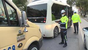 İstanbulda toplu taşıma araçlarına koronavirüs denetimi