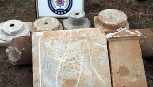 Manisada Roma ve Bizans dönemlerine ait eserler ele geçirildi