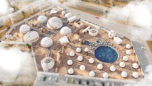 Kuşadasında Mars kolonisi temalı turistik tesis projesi