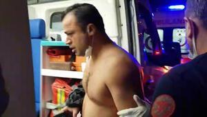 Son dakika... Hataydaki saldırıda şoke eden ayrıntı Ambulanstan indi, teröristin peşinden gitti
