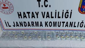 Suriye sınırında yakalandı Çantasından sahte 156 bin dolar çıktı