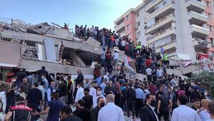 Son dakika... İzmir Valisinden açıklama: 70e yakın kişi canlı olarak kurtarıldı