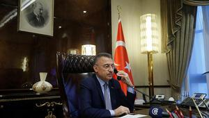Azerbaycan Başbakanından Cumhurbaşkanı Yardımcısı Oktaya dayanışma mesajı
