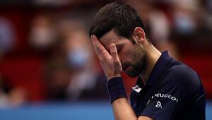 Djokovic, Viyana Açık Tenis Turnuvasına çeyrek finalde veda etti