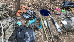 Muşta PKK terör örgütüne ait silah ve mühimmatlar ele geçirildi