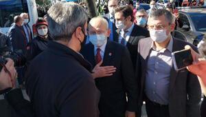 CHP lideri Kılıçdaroğlu, deprem bölgesinde