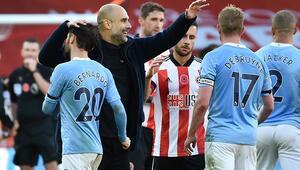 Manchester City, Sheffield United engelini tek golle geçti