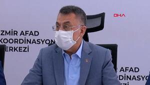 Cumhurbaşkanı Yardımcısı Oktay: İzmirdeki depremde hayatını kaybedenlerin sayısı 51e yükseldi