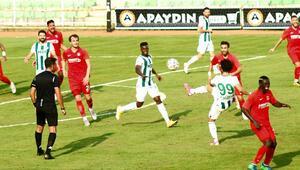 Giresunsporun 5 maçlık yenilmezlik serisi sona erdi