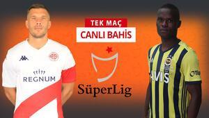 Antalyasporda Tamer Tuna gitti ve takımda 7 eksik var Fenerbahçenin galibiyetine iddaada...