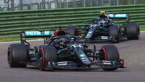 Formula 1de Türkiyeden önceki son durakta kazanan Hamilton oldu Mercedes tarihe geçti...
