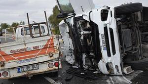 Ankarada feci kaza 4 kişi yaralandı