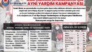 Sakarya Valiliği, İzmir için yardım kampanyası başlattı