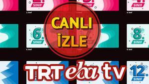 EBA TV canlı ders giriş ekranı: İşte 2 - 6 Kasım TRT EBA TV ilkokul, ortaokul, lise ders programı