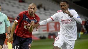 Lille 1-1 Lyon (Maç sonucu ve özeti ve golleri)
