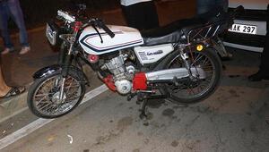 Adanada motosiklet kazası: 2 yaralı